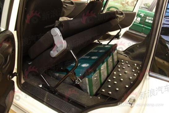 纯电动众泰朗悦E300  电池