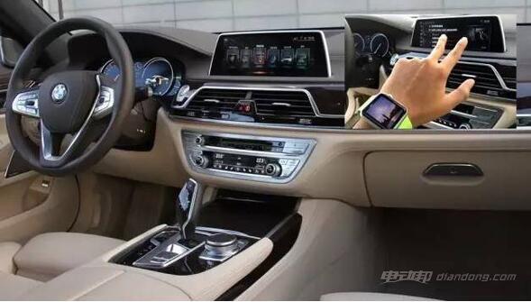 汽车新技术:手势控制取代触摸