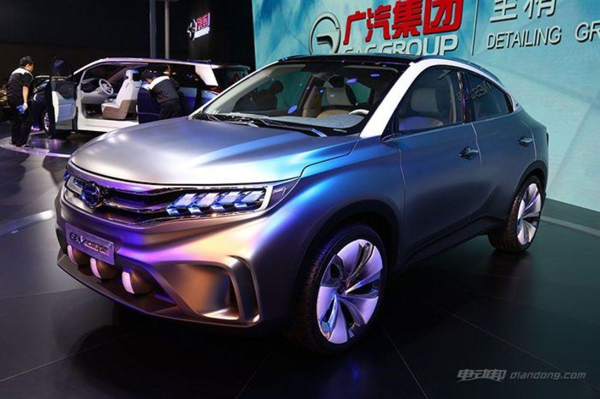 广汽传祺EV Coupe概念车将量产 2017年上市