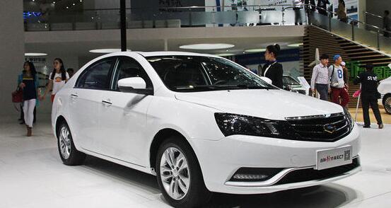 吉利电动汽车ec7价格及车型介绍高清图片