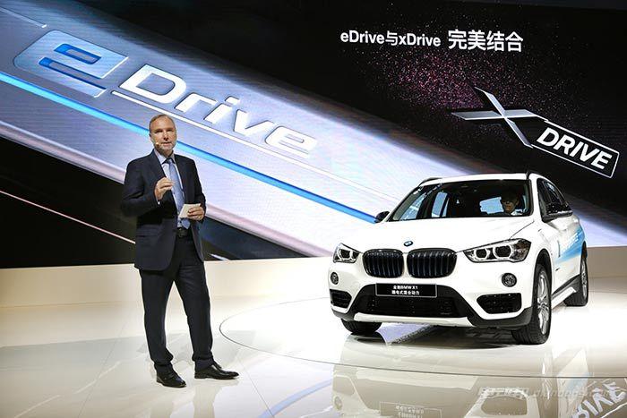 02.全新BMW-X1插电式混合动力全球首发