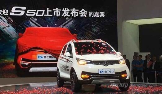 雷丁电动轿车s50价格及车型介绍高清图片