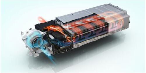 结构,减少了hv蓄电池的内部电阻