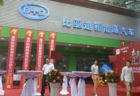 金环怡比亚迪新能源宝安中心店盛大开业