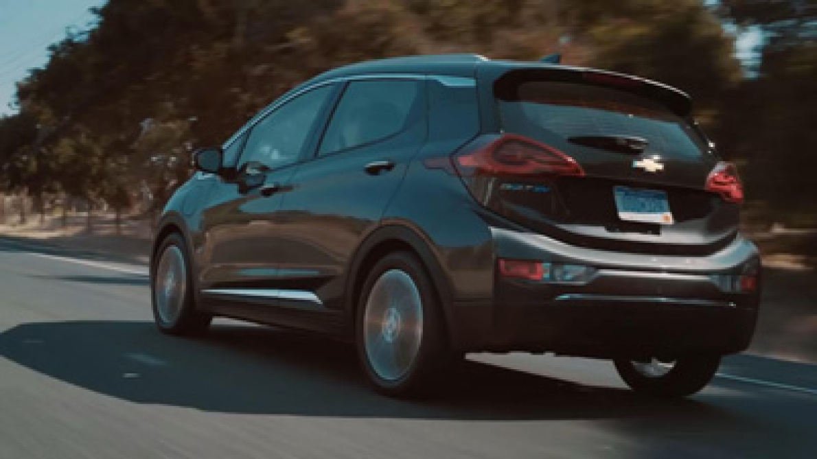 雪佛兰电动汽车充电效率要高于特斯拉