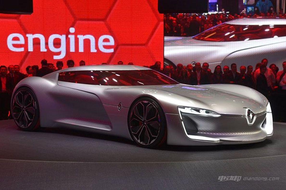 雷诺巴黎车展正式发布TREZOR电动概念车