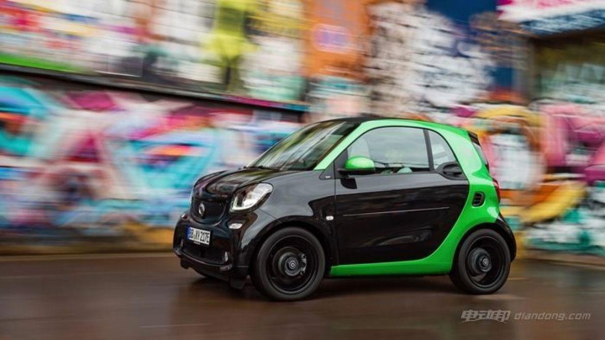 巴黎车展:smart品牌发布全新fortwo纯电动车