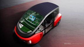 来自瑞士的纯电动概念小车——绿洲