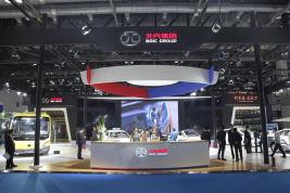北汽新能源强势登陆中国国际节能环保汽车展