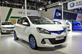 长安发布新款奔奔EV 最大续航210公里