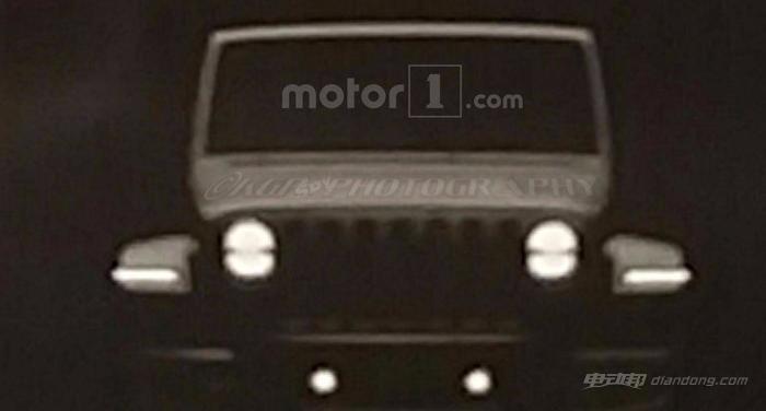 Jeep新一代牧马人泄露图