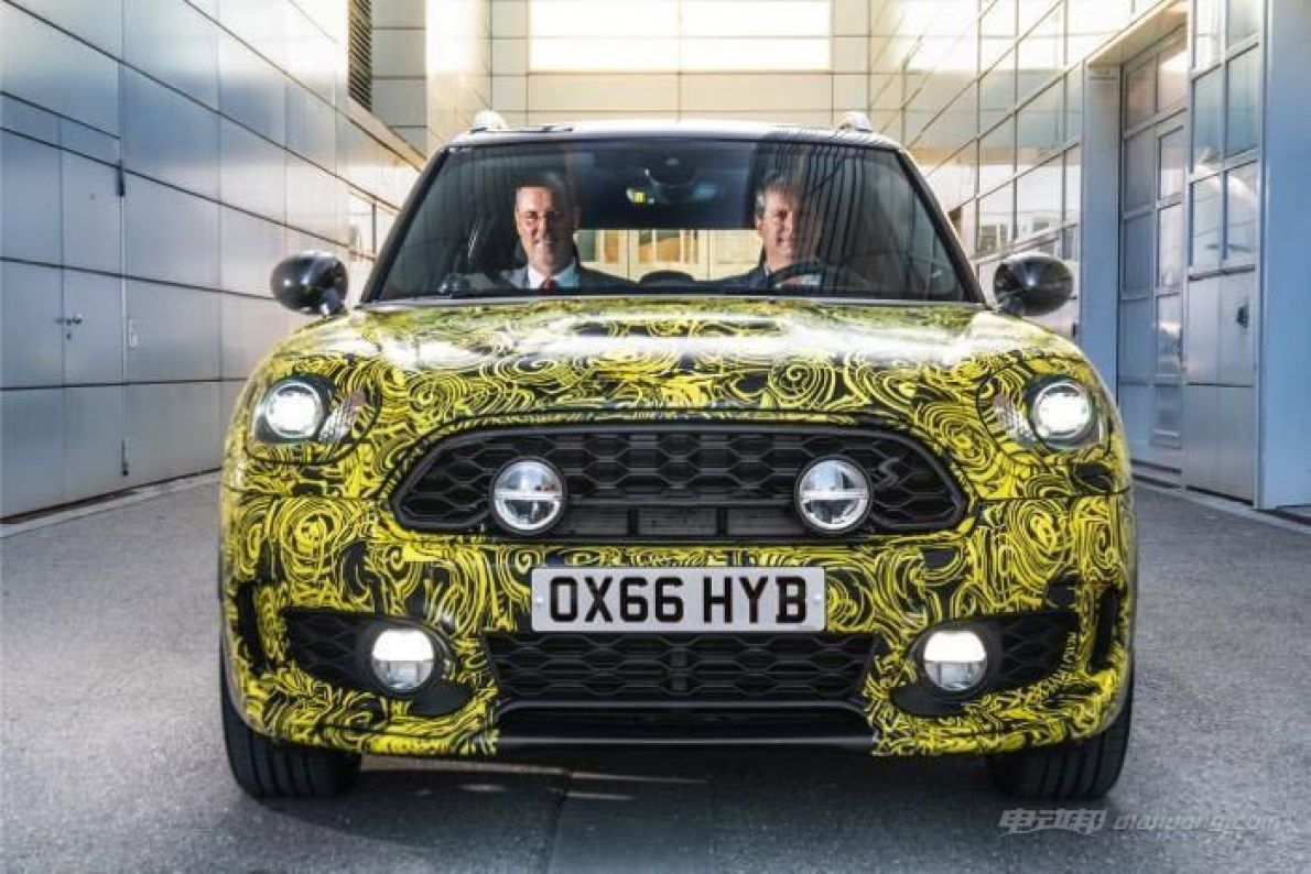 新能源再添新丁!MINI COUNTRYMAN E登场!