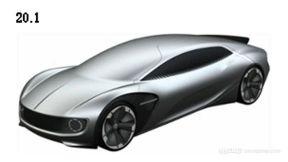 坚定电动方向 大众四款电动概念车专利图曝光