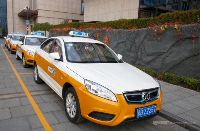 北汽新能源EU220可换电出租车