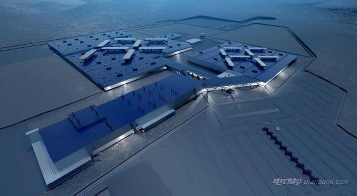 法拉第未来内华达工厂效果图
