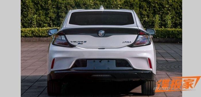 别克全新增程插电式混动轿车的申报图 (图片来源:汽车之家)