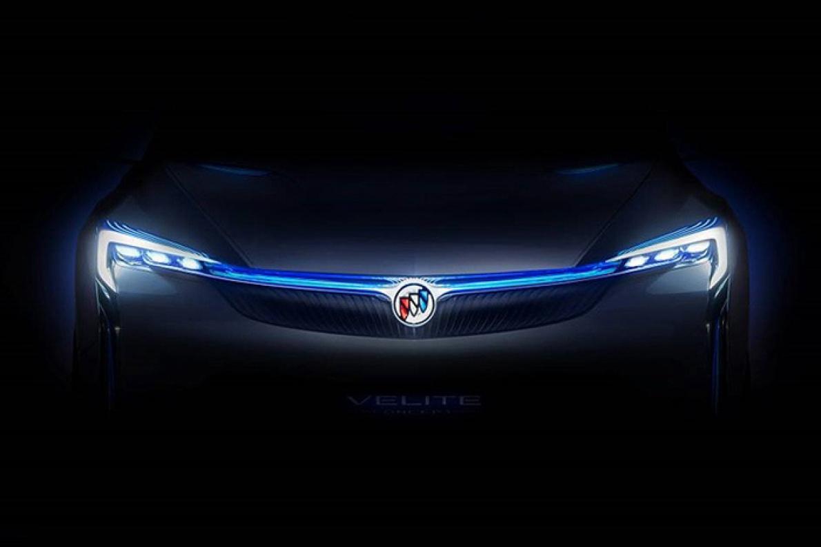 油耗仅0.9L别克Velite概念车将于广州车展首发