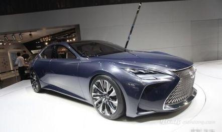 雷克萨斯全新一代LS混动车型