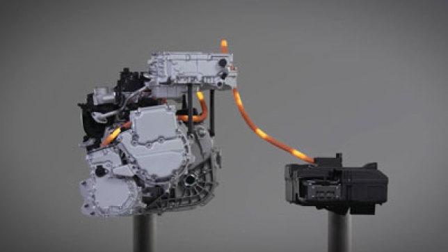 日产汽车新一代电机动力传动系统技术示例