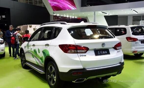 东风风神AX7新能源汽车车型介绍:动力及内饰