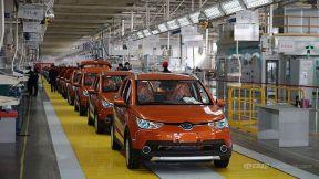 北汽新能源添新车 北京E·C180青岛基地投产
