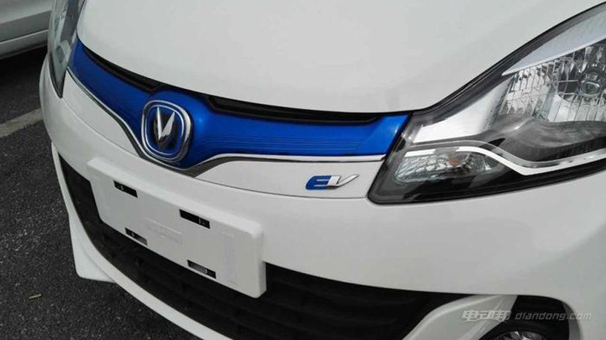 2016广州车展探馆:长安奔奔EV 续航210km