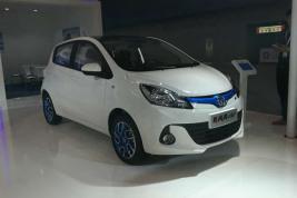 新奔奔EV正式上市补贴后6.48万起