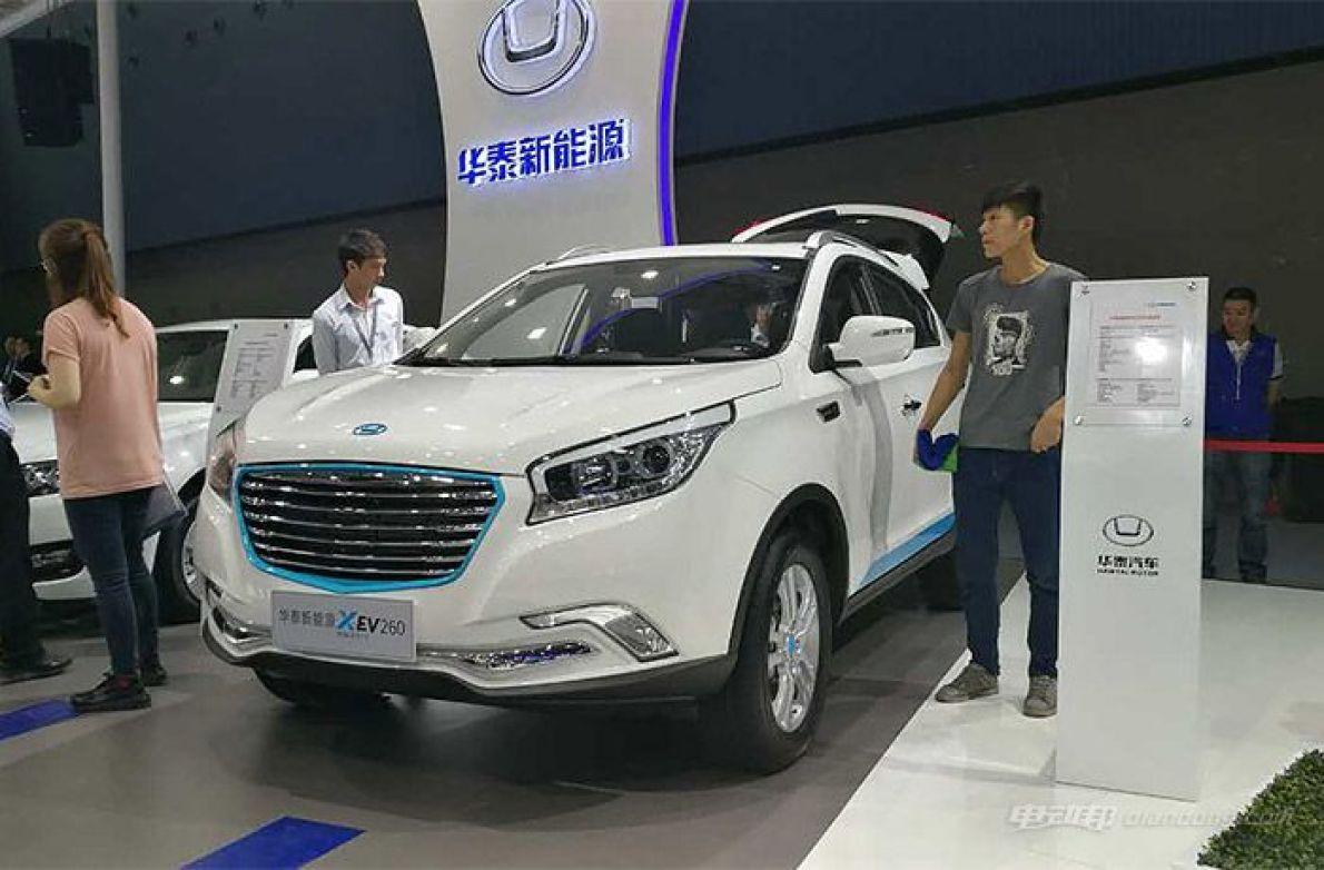 国内电动SUV翘楚 华泰xev260广州车展亮相