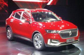 宝沃BX5插电混动版车型广州车展正式亮相!
