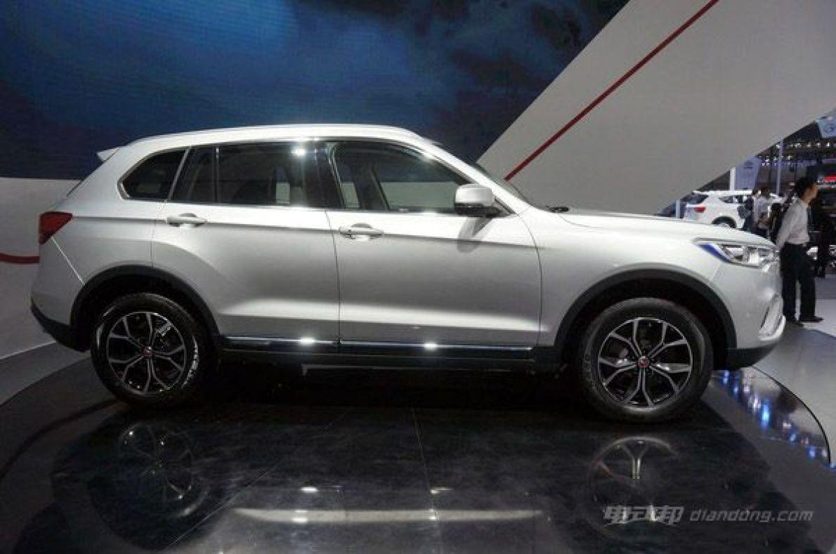 汉腾X7多款混合动力车型 亮相广州国际车展