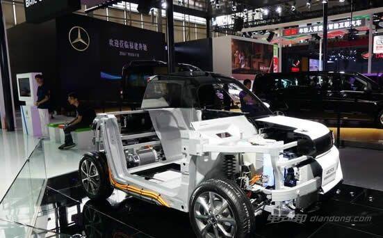 北汽新能源电动汽车arcfox-1结构