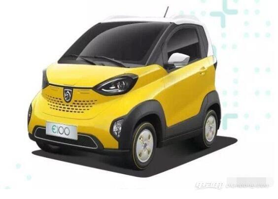 宝骏E100纯电动汽车
