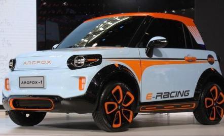 电动汽车ARCFOX-1概念版车型介绍