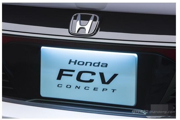 新能源汽車本田新一代FCV