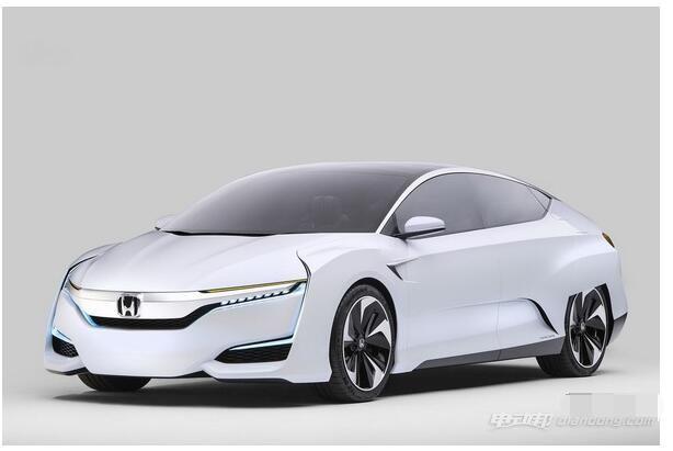 新能源汽車本田新一代FCV概念車