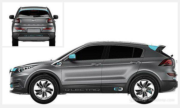 观致纯电动SUV-1