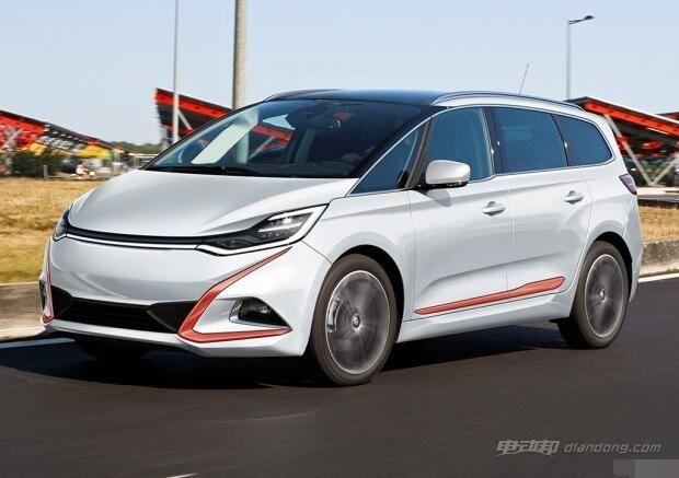 新能源品牌威马汽车MPV