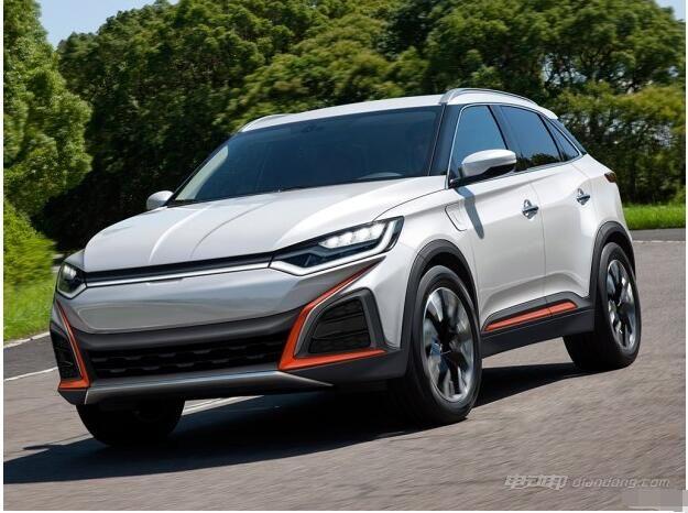 新能源品牌威马汽车效果图