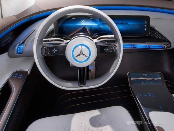将为奔驰电动汽车打造无线充电终端