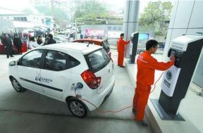 李克强总理部署电动汽车充电设施的最新政策