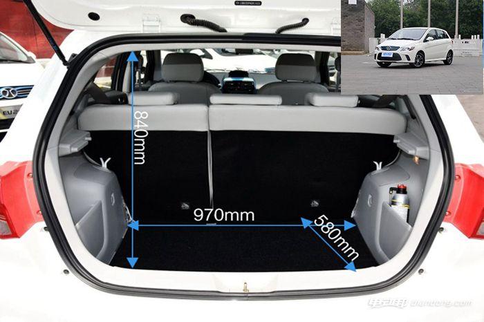 EV160后备箱容积2