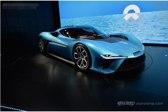 中国推出世界最快电动汽车蔚来电动汽车