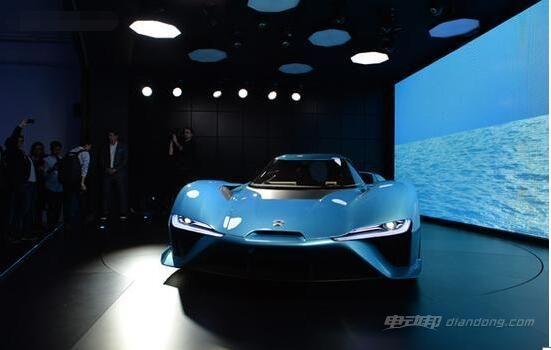中国推出世界最快电动汽车蔚来Nio EP9