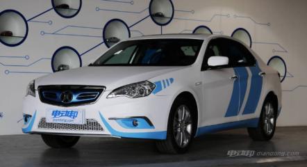 北汽新能源es210图片及车型介绍