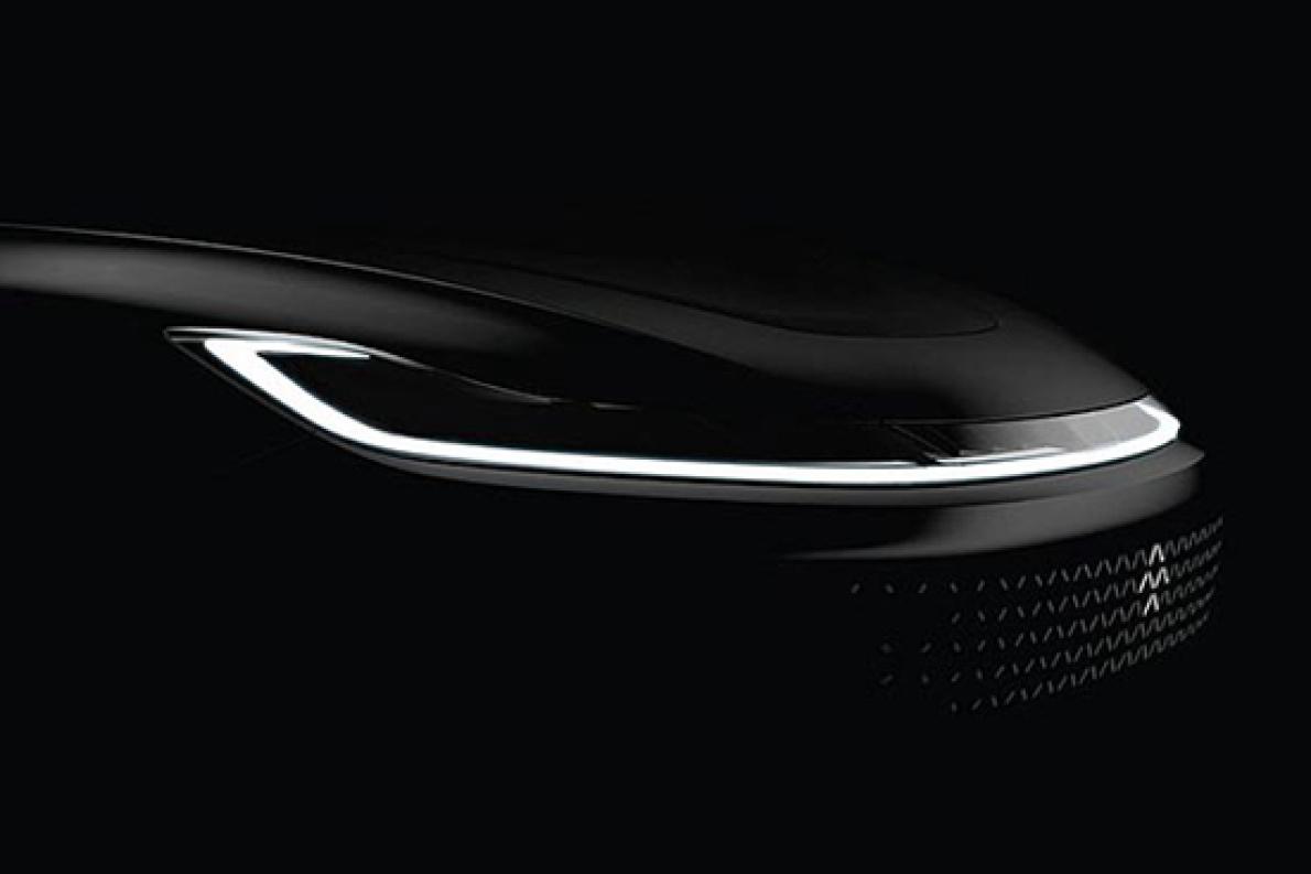 乐视首款量产车官方预告图发布 1月3日首发
