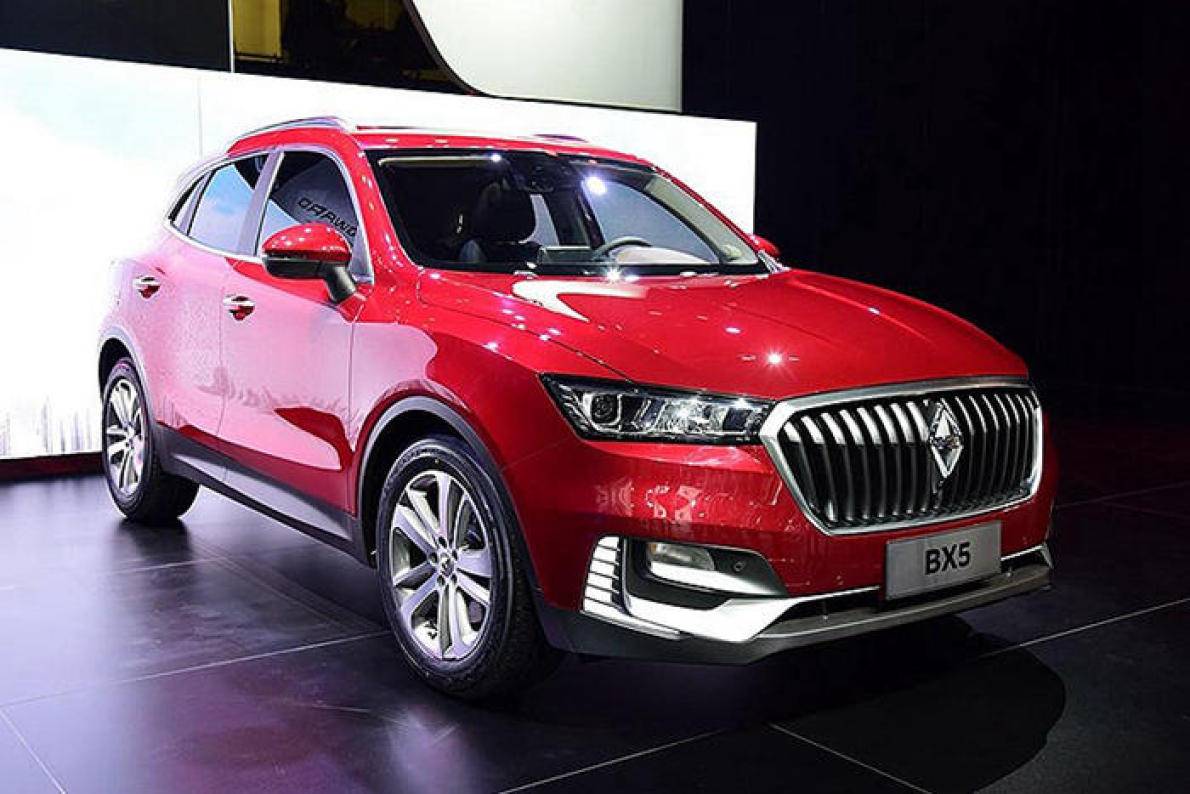 宝沃X5紧凑级SUV 主推混动版明年3月上市