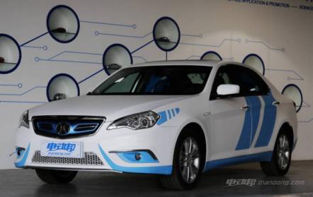 北汽新能源ES210的车型及价格