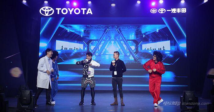 冒着生命危险参加了一场丰田的技术体验活动