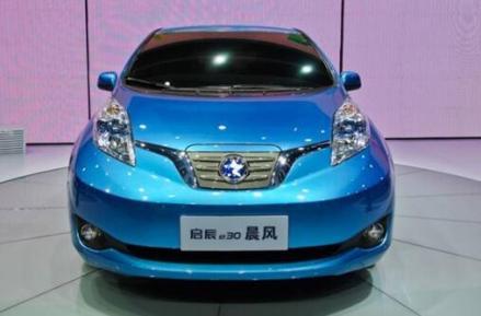 启辰晨风电动汽车广州上市,售价16.18万