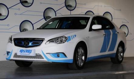 北汽新能源ES210车型介绍